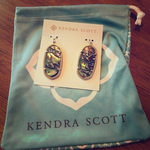 Kendra Scott Abalone Shell Dani Earrings